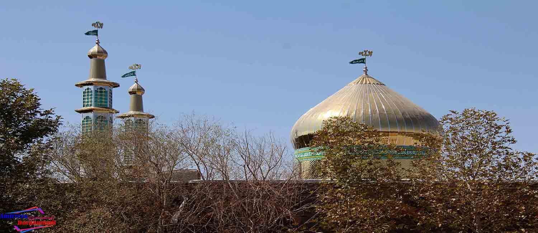 مكان هاي مذهبی و فرهنگی برغمد