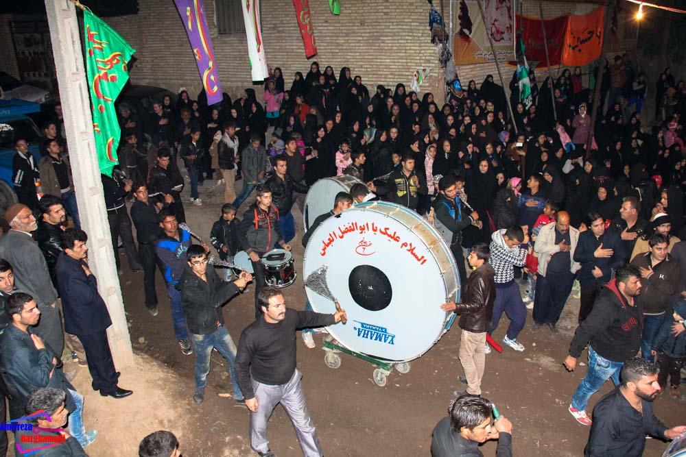 گزارش مراسم تعزیه محرم 93 روستای برغمد به همراه تصاویر