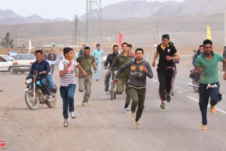 مسابقه ی دو میدانی ۹۴ روستای برغمد