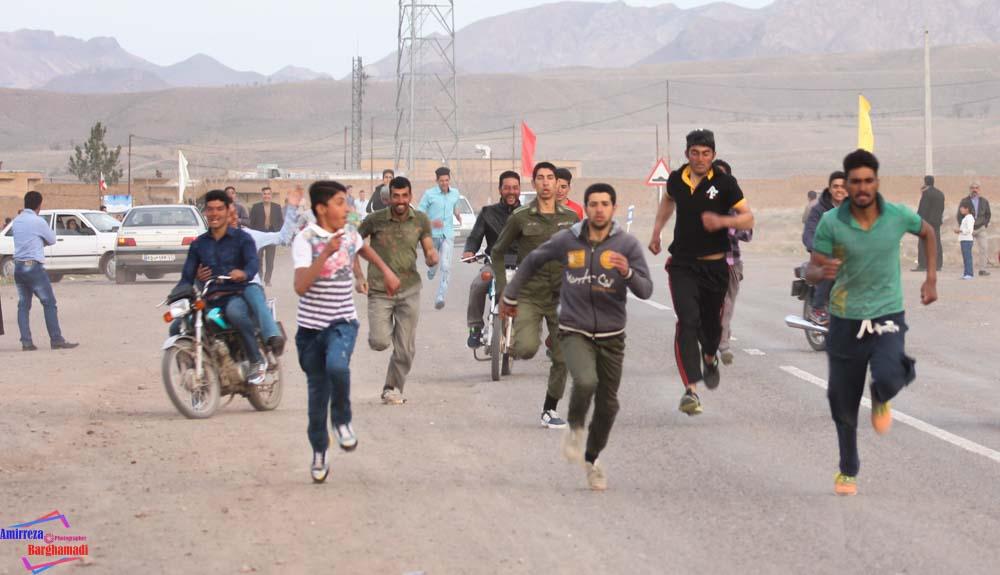 مسابقه ی دو میدانی 94 روستای برغمد