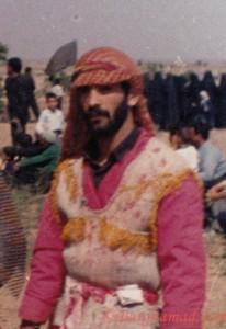 تقی علی سیا-از تعزیه خوانان برجسته روستای برغمد