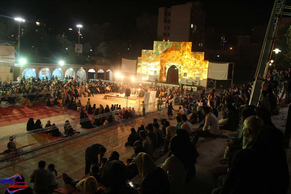 مراسم تعزیه خوانی موسسه خیریه بنیهاشم رضوی در پارک پلیس رمضان ۹۴  عکاس - امیررضا برغمدی-1213