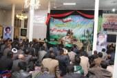 برگزاری دومین یادواره شهدا دهستان پیراکوه شهرستان جوین –برغمد