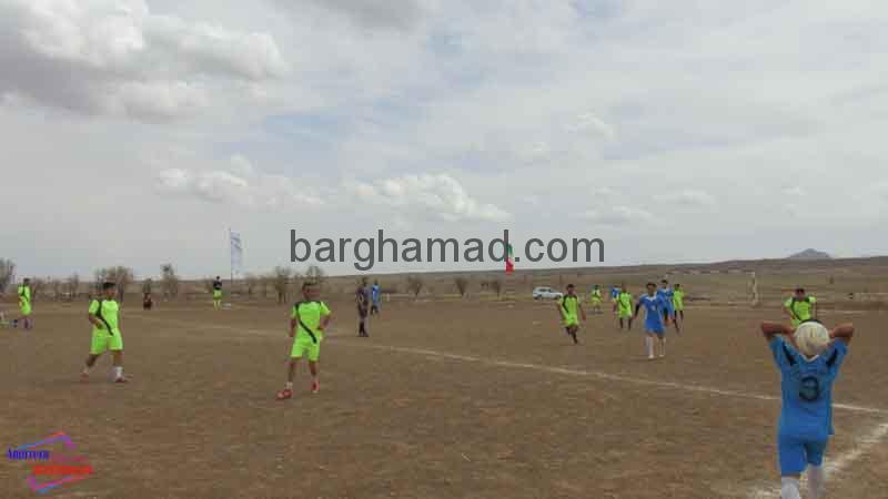 مسابقات فوتبال روستای برغمد عید96