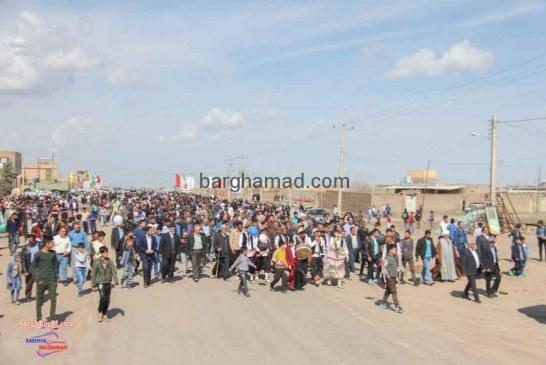 همایش پیاده روی روستای برغمد عید۹۶