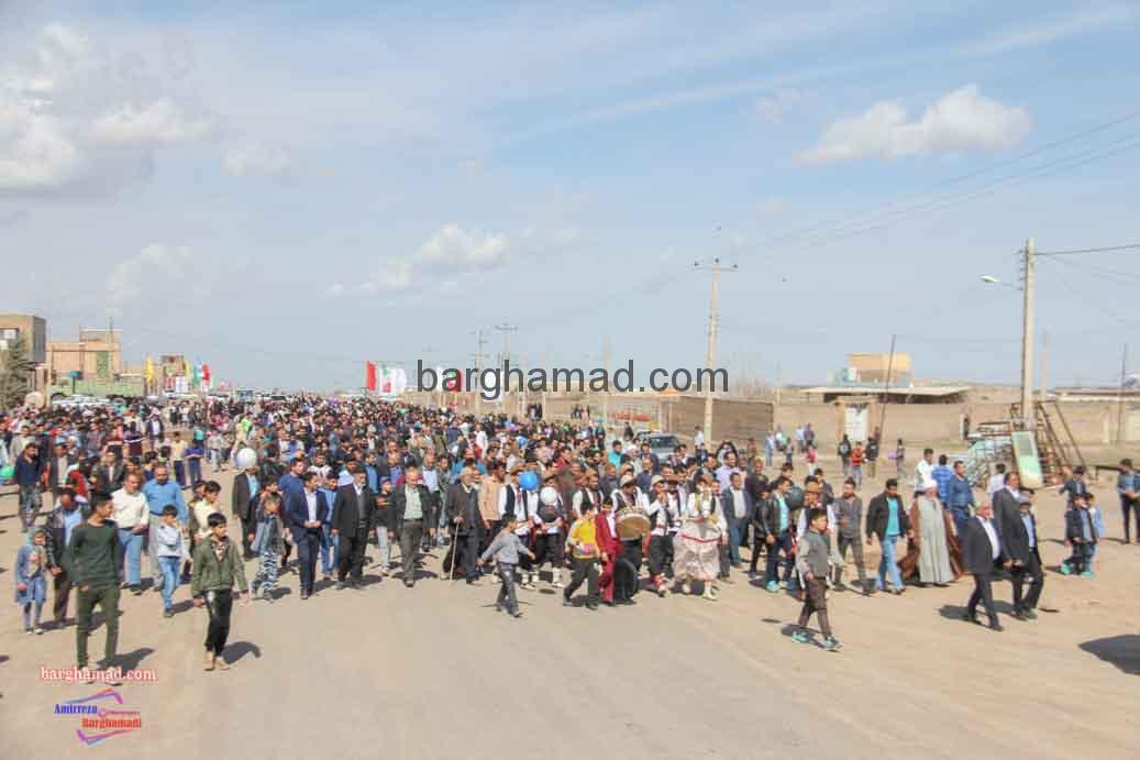 همایش پیاده روی روستای برغمد عید96