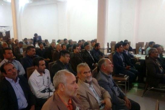 همایش شوراهای اسلامی شهر و روستاها در شهرستان جوین