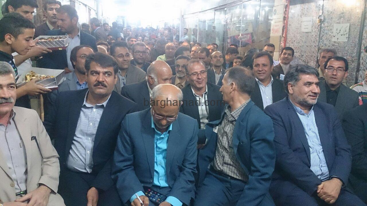 افتتاح ستادمرکزی اعتدال وتوسعه سبزوار