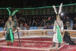 تعزیه محرم ۱۳۹۶ روستای برغمد