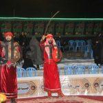 مهدی شمس ابادی و جواد تسبیحی تعزیه محرم 1396 روستای برغمد