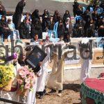 تعزیه حضرت قاسم تعزیه محرم 1396 روستای برغمد