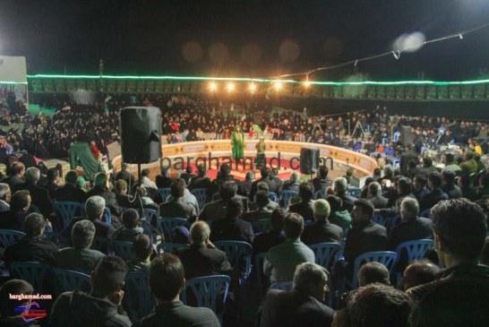 تعزیه محرم ۱۳۹۶ میدان بزرگ تعزیه روستای برغمد