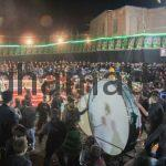 هیئت زنجیرزنی تعزیه محرم 1396 روستای برغمد
