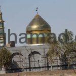 مصلی تعزیه محرم 1396 روستای برغمد