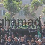 هیئت زنجیر زنی تعزیه محرم 1396 روستای برغمد