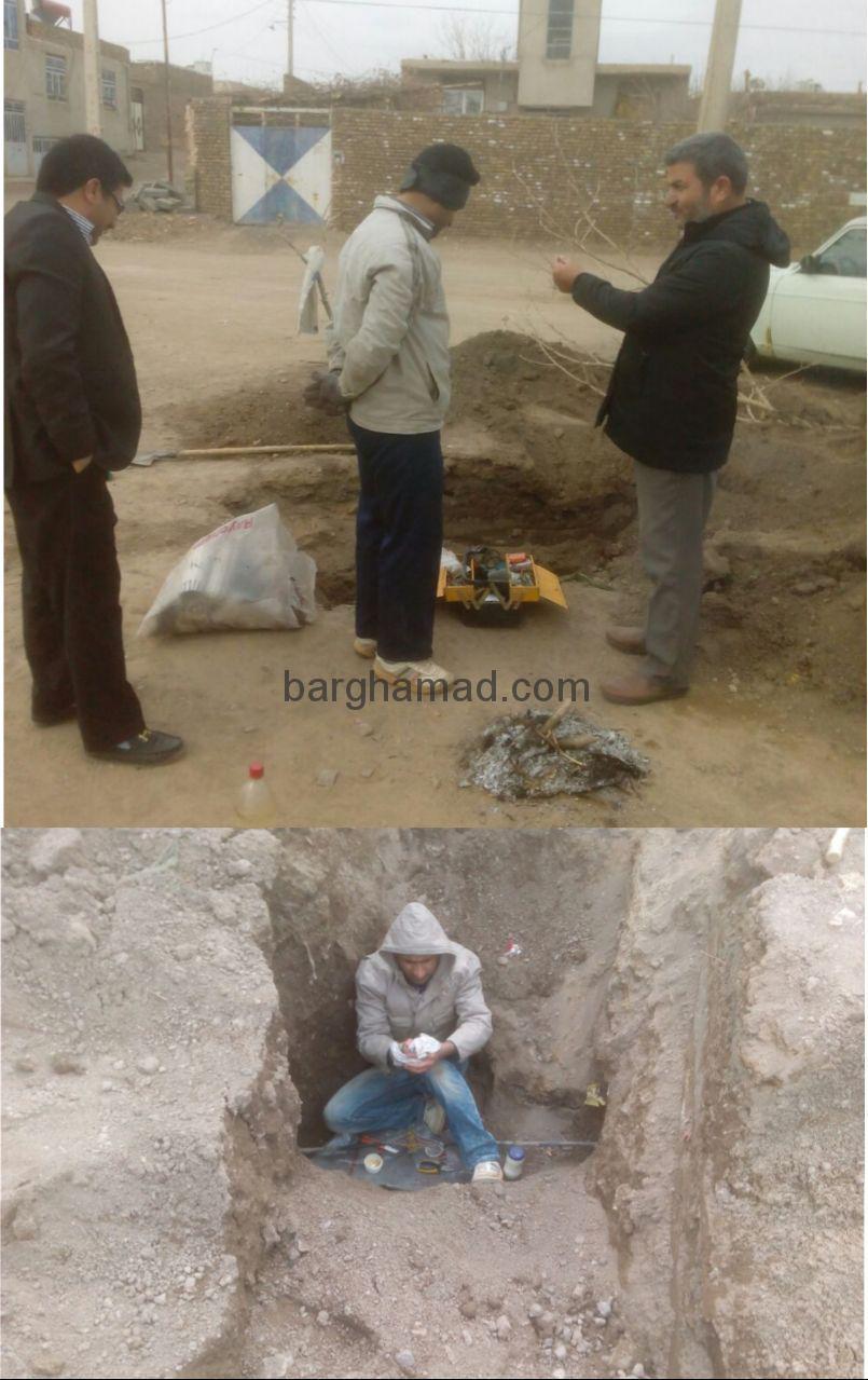 ارتباط مجدد تلفن مخابرات اهالی روستای برغمد