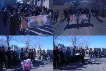 همایش پیاده روی  بمناسبت ایام دهه فجر و سالروز پیروزی انقلاب اسلامی در روستای برغمد