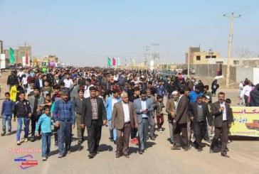همایش پیاده روی روستای برغمد عید ۹۷