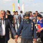 نفر چهارم رجب علی برغمدی مسابقه ی دومیدانی روستای برغمد سال 92