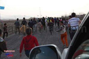 مسابقات دو میدانی روستای برغمد سال 93