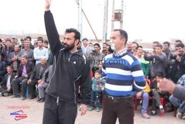 جشنواره بازی های بومی و محلی روستای برغمد عید ۹۴