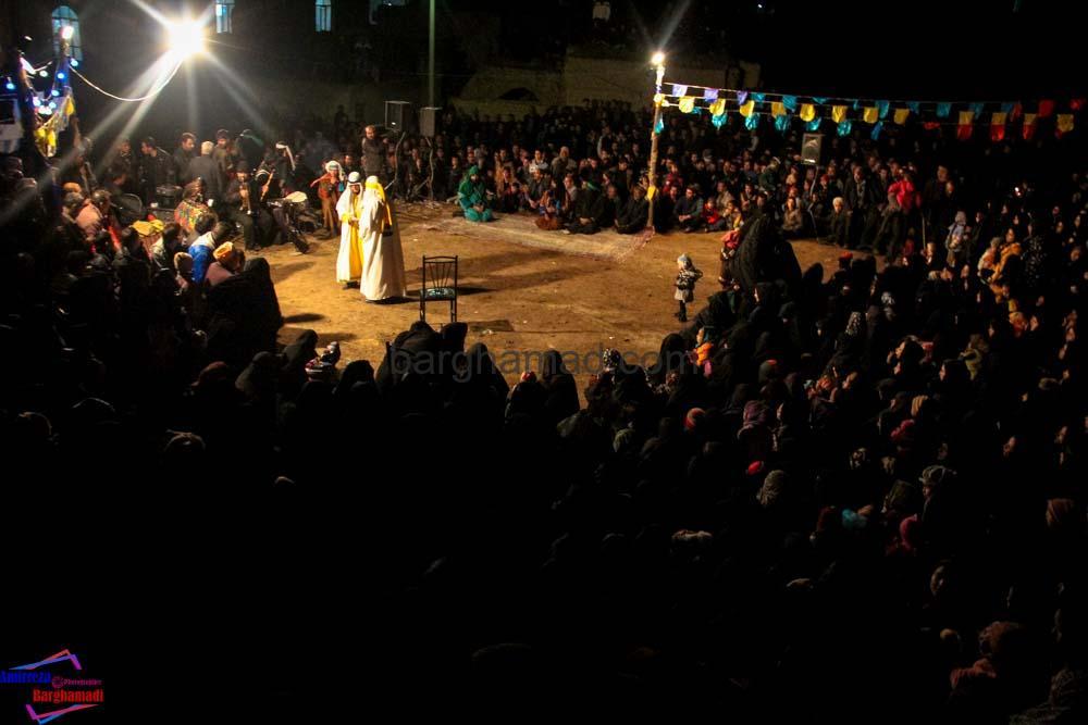 تعزیه بازار شام برغمد محرم ۹۲-3888