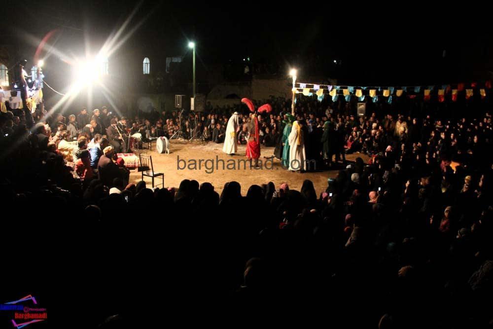 تعزیه بازار شام برغمد محرم ۹۲-3970