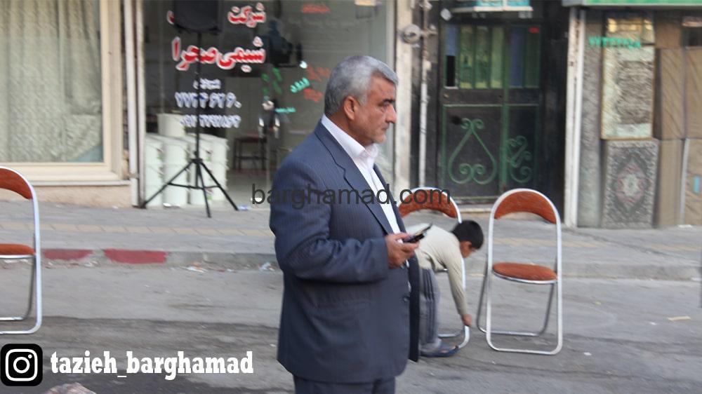 تعزیه روستای برغمد مسئول برگزاری